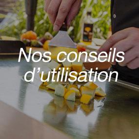 Conseil d'utilisation